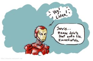Jarvis Takes Up Trolling by Tavoriel