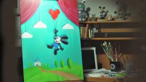New Oswald Painiting by swarlock64