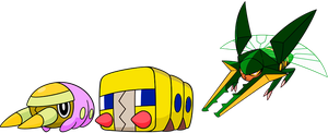 Alternate Shinies:Grubbin, Charjabug, and Vikavolt