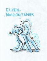 Dog for Elven by Loar5
