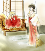 cleaning by violet-kikyo