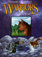 +Warrior Shadows of the Past cover+ Coloured by min-mew