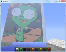 Gir Minecraft Creation by Pat-The-Kitsune