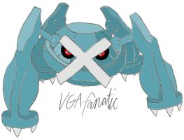 Metagross by VGAfanatic