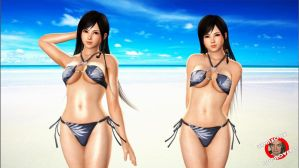 DOA5 Hotties Kokoro by xo-BAHAMUT-ox