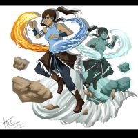 The Legend Of Korra by Dirkajek144