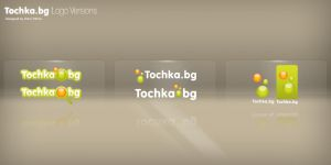 Tochka.bg Logo Versions by denull