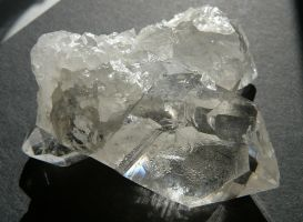 Quartz Ice Crystal Rock Stock by Enchantedgal-Stock