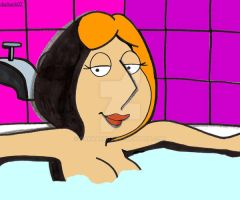 Lois in Hot Water by DarkArk07