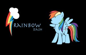 Rainbow Dash Background by Shadaily