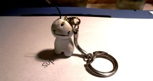 Cry Guy Keychain by idont0know