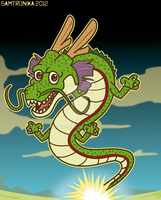 DRAGONBALL.. Shenron Dragon by SaMtRoNiKa