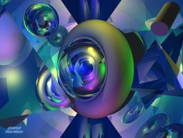3D Abstract 3 by Don64738