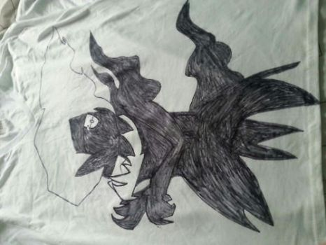 Art shirt #1 View #2) 2nd picture of sharpie DARKY by DarkL0rd15