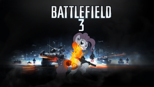 BATTLEFIELD 3 Pinkie Pie Wallpaper by Reaper-The-Creeper