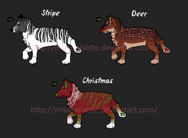 Cheap Christmas Adopts OPEN by Prairillon