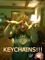 KEYCHAINS!!! by FeatheredSoap