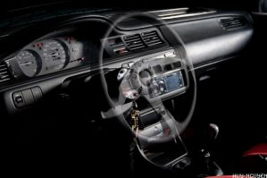 Honda Civic EG6 dash by huy-nguyen
