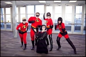 The Incredibles... and Edna 2 by eatsleepbroadway