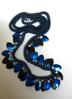 Chainmail Jewelry with Scales by DesignsbyJames
