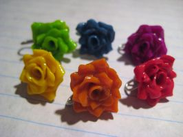 Rainbow Roses 2 by wolfie6