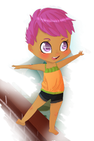 Scoot Scootaloo by Puffleduck