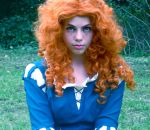 Just being Merida - Brave by Distorted-Echo