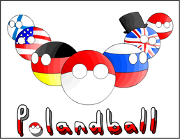Polandball by BritainAustria
