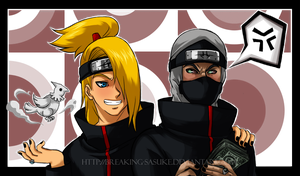 Kakuzu and Deidara by BreakingSasuke