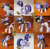 Twilight Sparkle Plus Scepter by AplexPony
