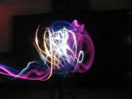 Abstract Light Painting by Twightfan
