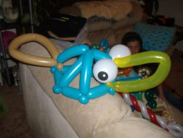 Perry The Platypus Balloon Hat by Crazdude