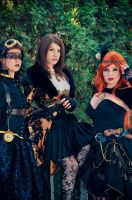 Ladies of Steam by LadyStaba