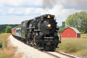 NKP 765 in Michigan by laxhogger
