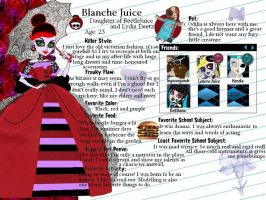 MH OC-Blanche Juice profile by Bj-Lydia