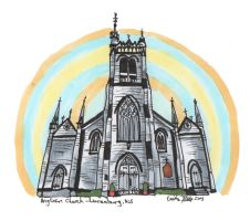 Anglican Church in Copics by everythingerika