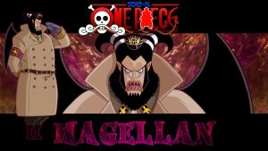 Magellan - ONE PIECE Gol D. Roger's Era Project by ShadowSpit