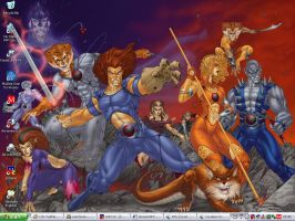 Thundercats Desktop by kon-el