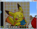 ~Pikachu Minecraft Creation~ by Pat-The-Kitsune