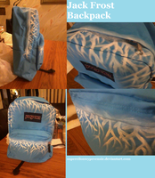 Jack Frost Backpack by supereilonwypevensie
