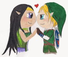 Link and DJ by MissBezz