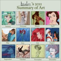 2011 art summary by bealor