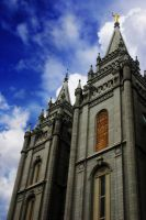 Salt Lake Temple by lemango