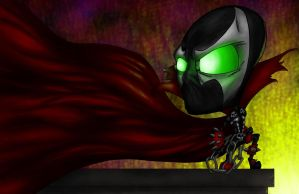 Chibi Spawn by halwilliams