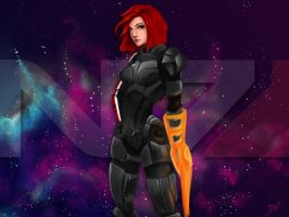 This is my favorite day on the Citadel: N7 vol 1 by Shaya-Fury