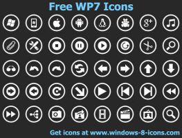 Free WP7 Icons by Ikonod