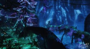 Avatar Bio-Luminescence Scene by ComplxDesign