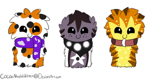 ScarfBlob Adopts 3 by CaramelCocoaAdopts