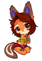 Chibi Commish for Usagi-no-Mimi by luna777
