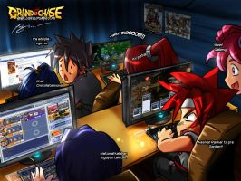 Grand Chase PH Computer Shop by LuckyIce